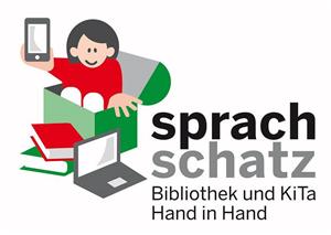 {#Logo Sprachschatz bunt}